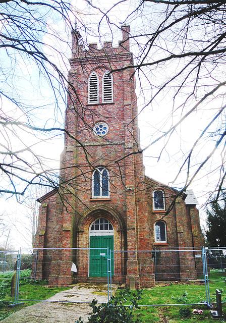 Awaiting demolition, Saint Paul's Church, Eastville , Lincolnshire