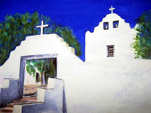 Mission San Jose, Laguna Pueblo, New Mexico