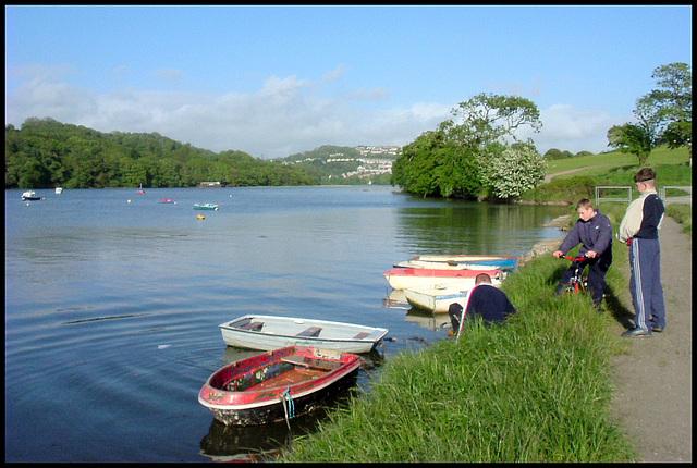 boats at Tamerton Lake