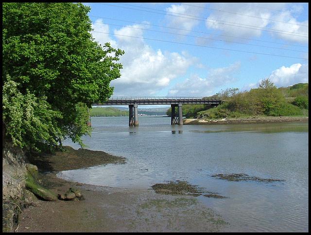 Black Bridge at Tamerton Creek