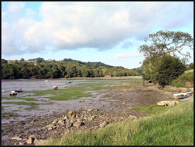 low tide at Tamerton Creek