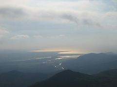 From the summit of Snowdon