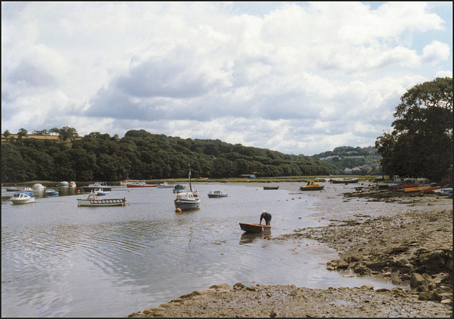 the harbour at Ernesettle