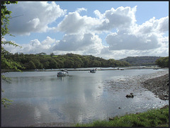 clouds at Tamerton Creek