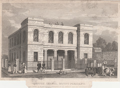 Scotch Presbyterian Chapel, Mount Pleasant, Liverpool (Demolished)