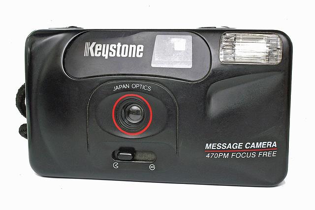 Keystone 470PM Focus Free Message Camera