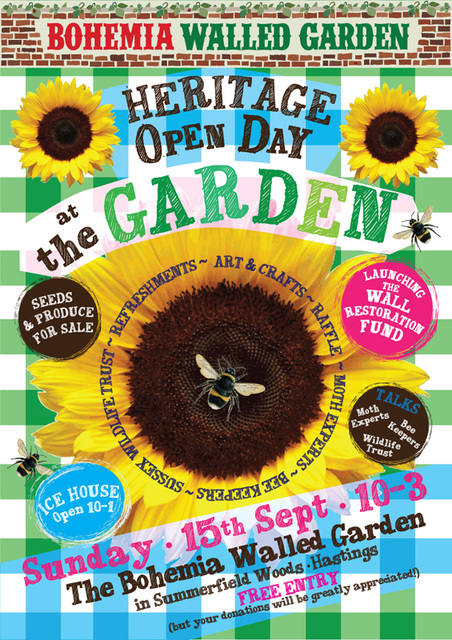 Bohemia Walled Garden Mothing & Open Day