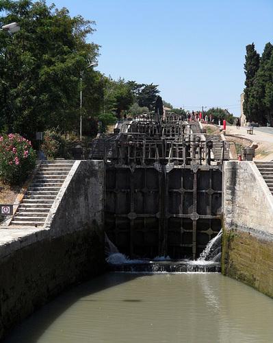 Fonseranes - Le 9 chiuse del Canal du Midi