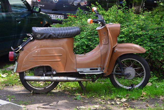 Leipzig 2013 – Simson Schwalbe moped