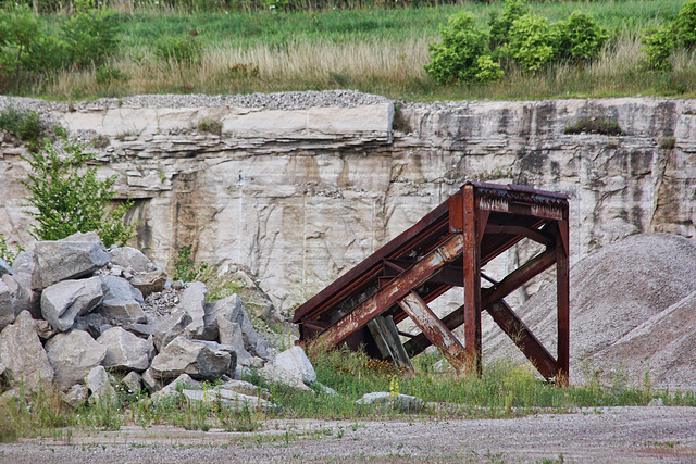 quarry ramp