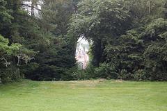 Trarigardo al Gotika Domo (Durchblick zum Gotischen Haus)