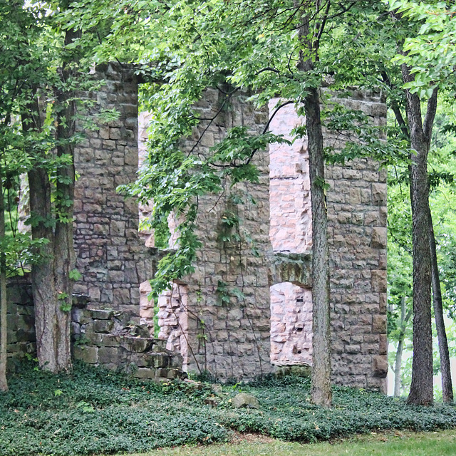 ruins of Vin Villa