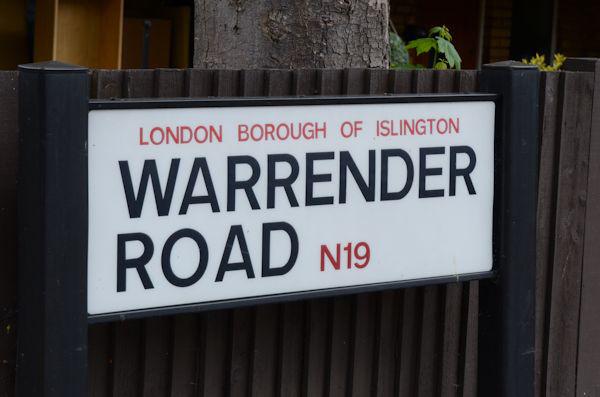 Warrender Road, N19