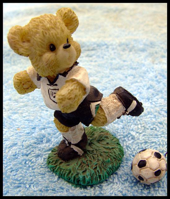 German soccer bear