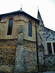 st.dunstan's church, cheam, london