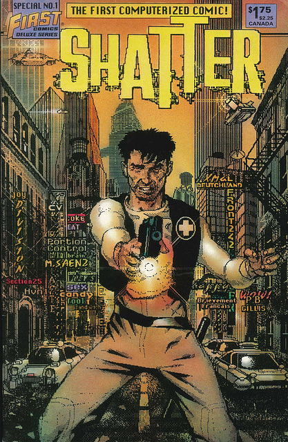 Shatter Special No 1 Cover
