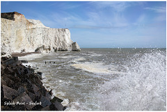 Splash Point lives up to its name - Seaford - 27.4.2012
