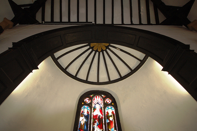 Apse Ceiling, Saint Martin's Church, Talke, Staffordshire