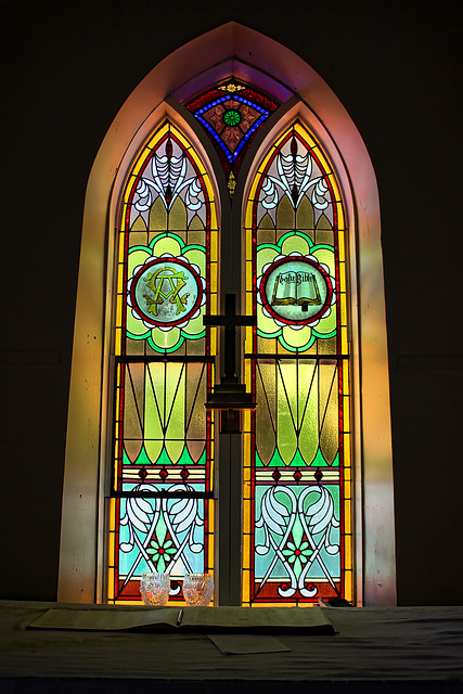 anglican church - stained glass