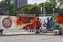 Background Music – Jazz Festival, Président-Kennedy at Jeanne-Mance, Montréal, Québec