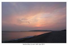 Seaford Bay Sunset - 26.4.2011