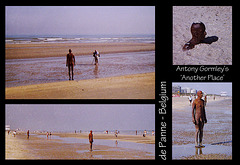 Gormley's - Another Place - de Panne, Belgium - now at Morecambe Bay via London's South Bank complex.
