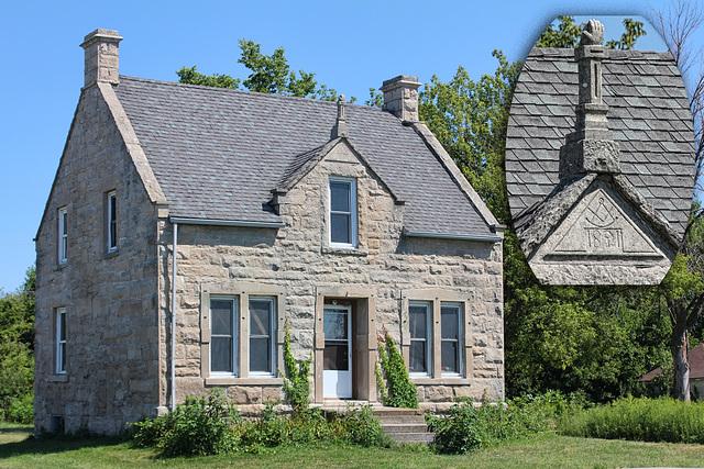 Stone House & peak detail