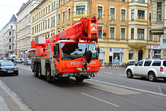 Leipzig 2013 – Crane of the Fire Department