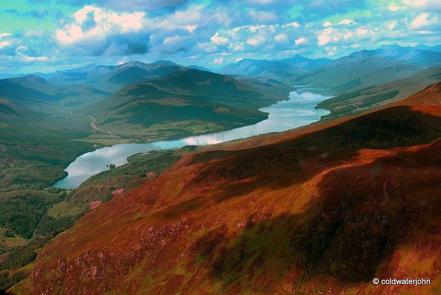 Loch Arkaig off the Great Glen