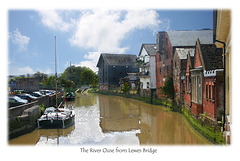 The Ouse from Lewes Bridge