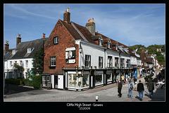 Cliffe High Street - Lewes - 2.5.2009