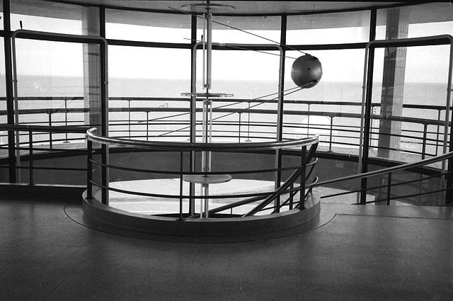 Staircase, De La Warr Pavilion, Bexhill on Sea.
