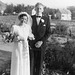 (143) Brudeparet Anna (Bakke) og Jens Bergum, 24, juli 1954
