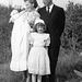 (153) Dåpsbarnet Jan-Thore Solem, Hilma og Signold Solem, Wenche (Solem) Thorsrud, 24. august 1958