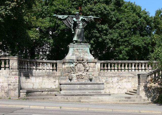 München-Sendling - Denkmal Schmied von Kochel