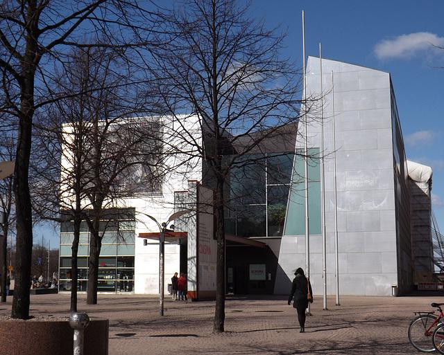 Kiasma Art Museum in Helsinki, April 2013