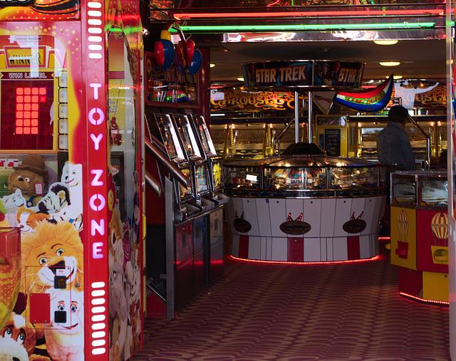 Amusement Arcade, Filey, North Yorkshire