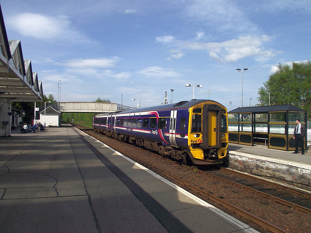 158721 grinds to a halt at Dingwall