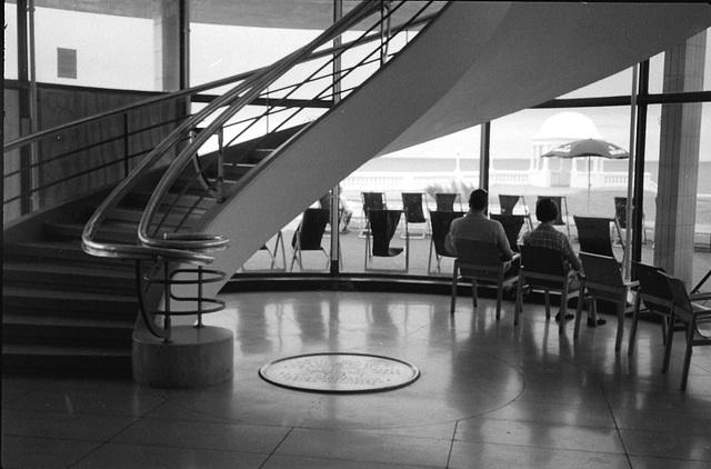 Staircase, De la Warr Pavilion, Bexhill-on-Sea.