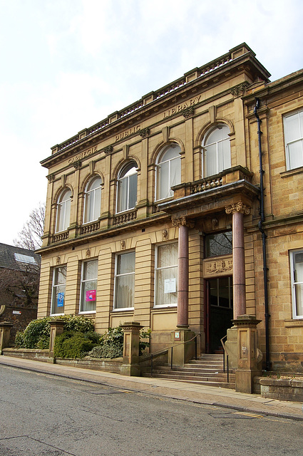 Carnegie Library, Accrington, Lancashire