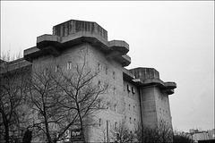 Flakturm (Flack-tower) Heiligengeistfeld, Hamburg.