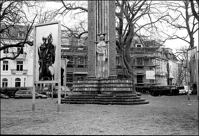 Monument, St. Johanniskirche, Hamburg.