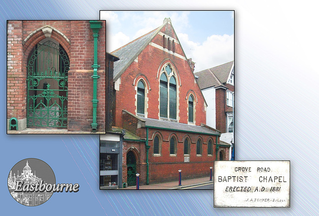 Grove Road Baptist Chapel Eastbourne 4 5 2012