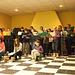 Fruit du 20-e stage de chant choral du Choeur Espéranto-Pyrénéen :Concert à la MJC Guy Môquet de Laroque d'Olmes