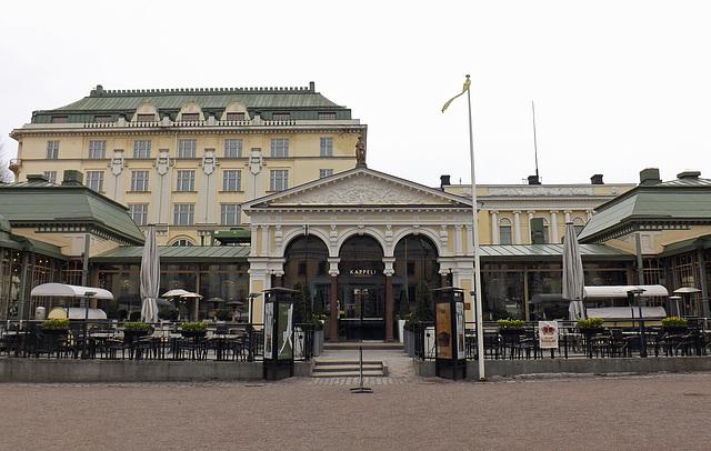 The Esplanadin Puisto in Helsinki, April 2013