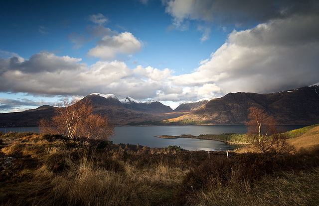 Loch Torridon Light, Wester Ross, Scottish Highlands