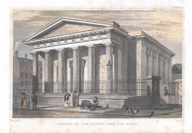 Blind Church, Hardman Street, Liverpool (Demolished)
