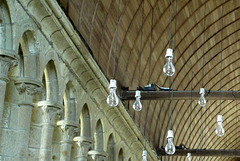 Abbaye du Mont Saint Michel (Ille-et-Vilaine) (Normandie, France)