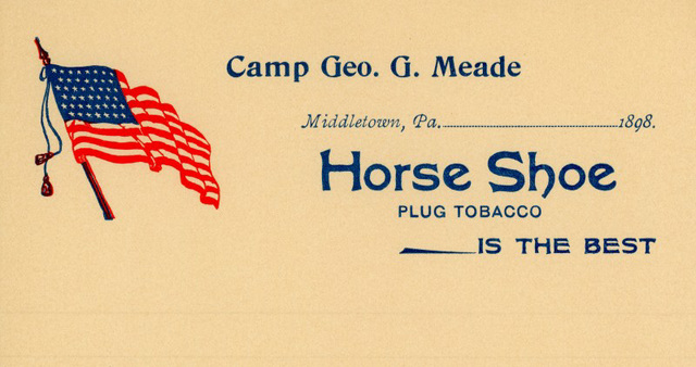 Camp Geoge G. Meade Letterhead, Middletown, Pa., 1898