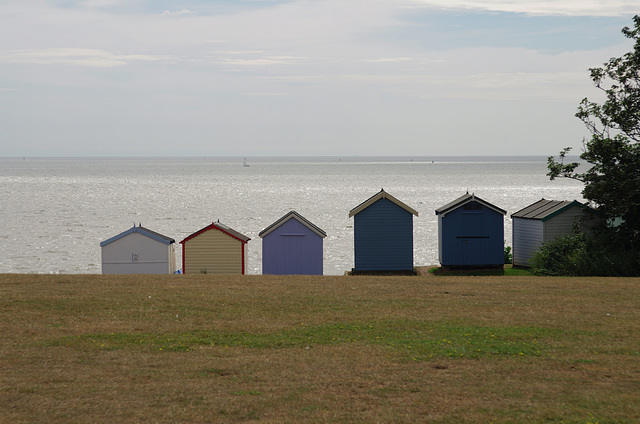 Staggered huts